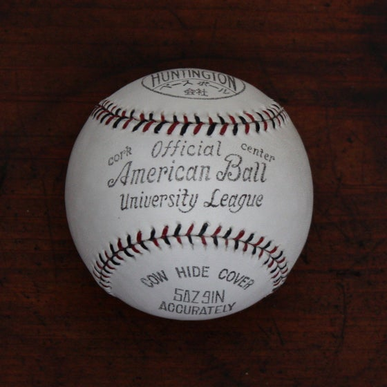 Image of Japanese University League Ball