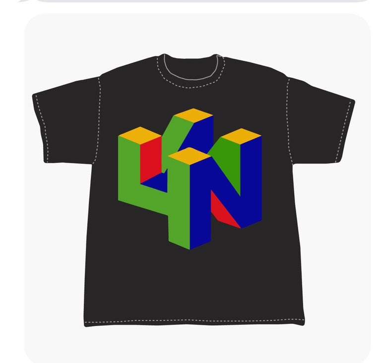 Image of N64N tee FREE SHIPPING