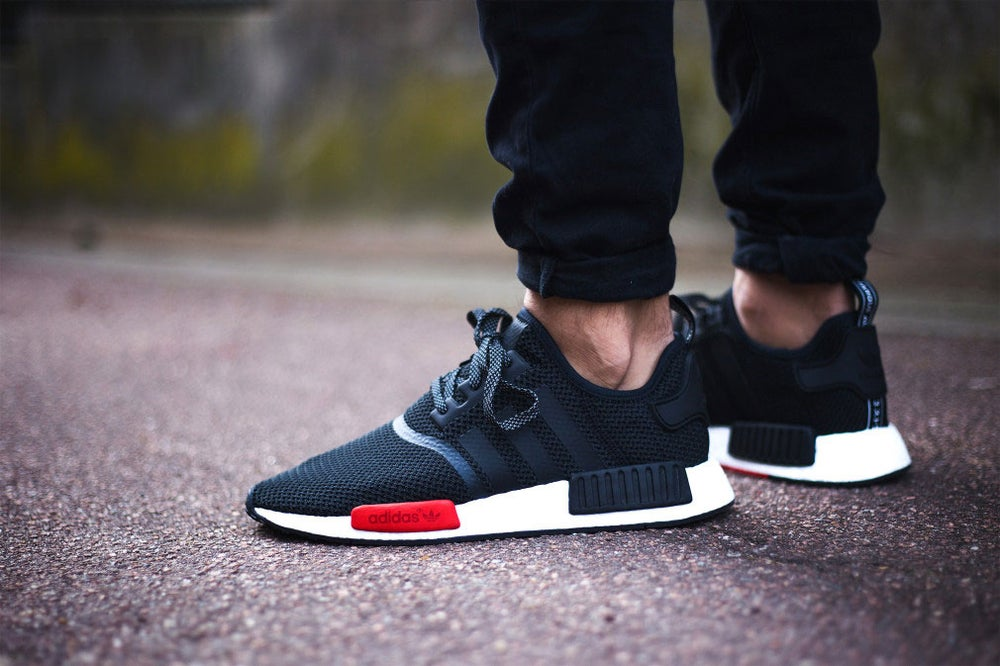 b26e6067ce2ad Image of Adidas NMD Footlocker EU Exclusive Release Black-Dark Grey-White  AQ4498