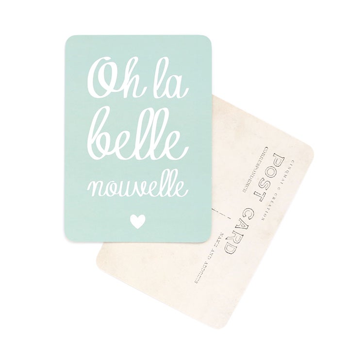 Image of Carte Postale OH LA BELLE NOUVELLE