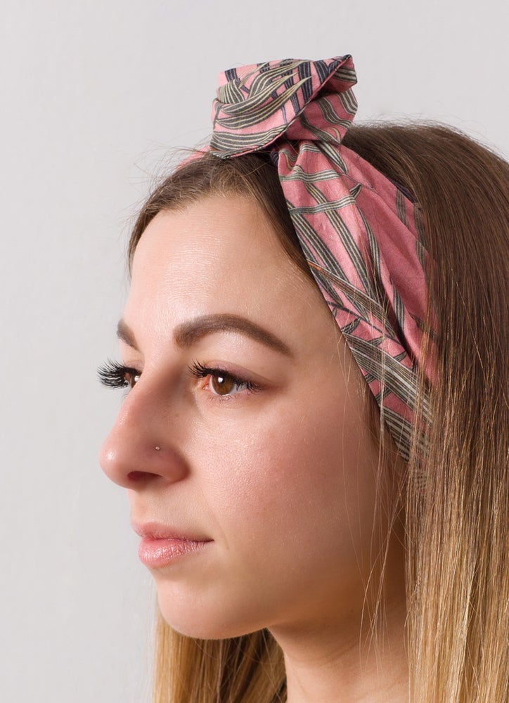 Image of Palm Print Headpiece