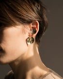 Image of GOLD SAUCER EARRINGS