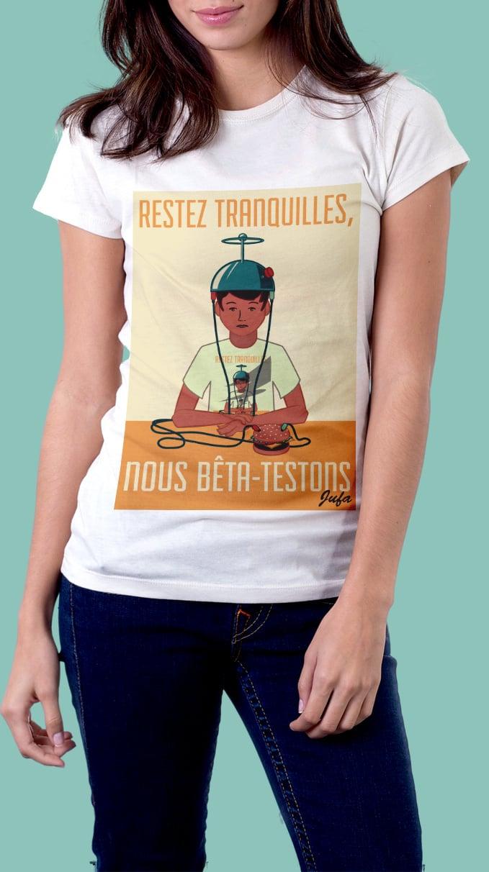 Image of T-shirt femme