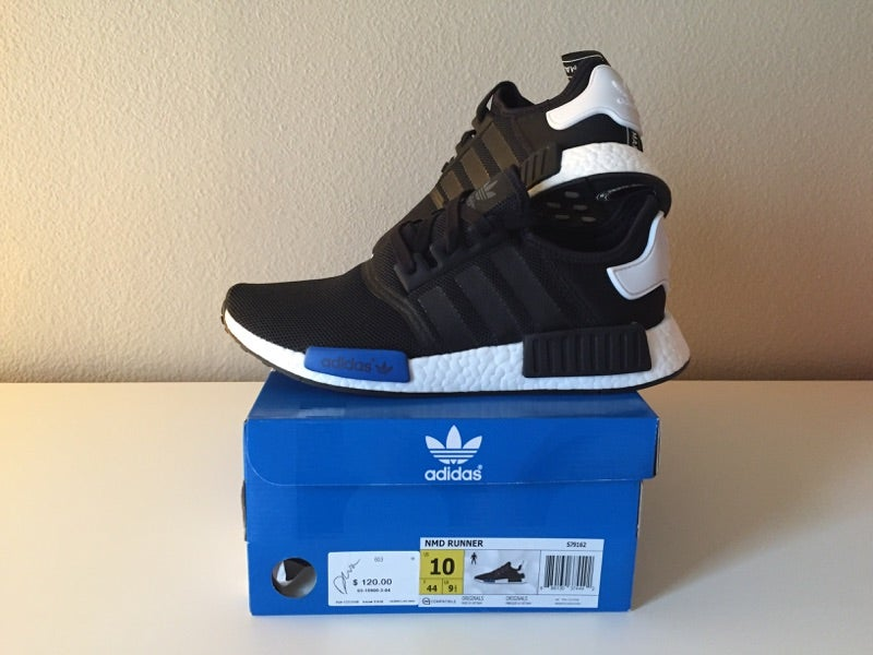 Image of adidas nmd 'core black'