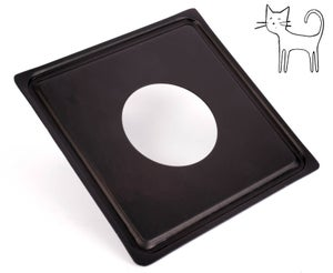 Image of Kodak Master View 8X10 Camera Lens Board (KMV)