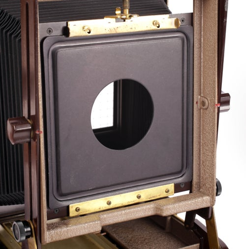 Image of Kodak Master View 8X10 Camera Lens Board