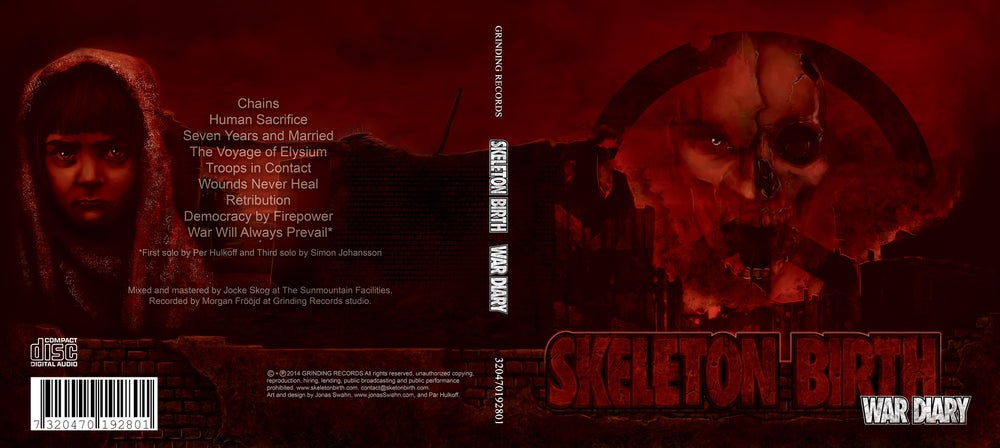 Image of CD Skeleton Birth -War Diary- (Digipack)