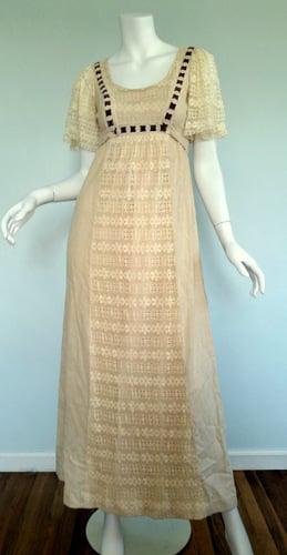Image of Linen Boho Dress