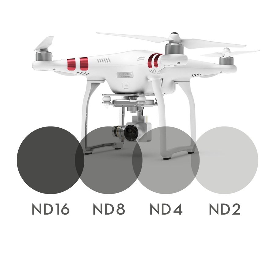 Image of 4-pack Neutral Density filters for DJI Phantom 3 Standard