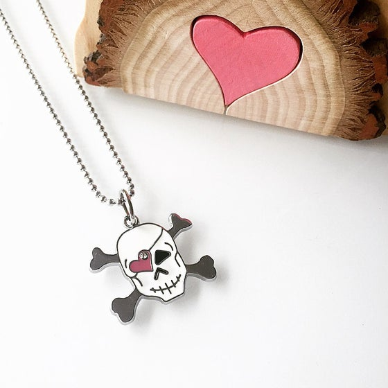 Image of KIDS : Skull Necklace