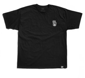 """Image of """"Victory Fingers"""" Tee, (P1B-T0157)"""