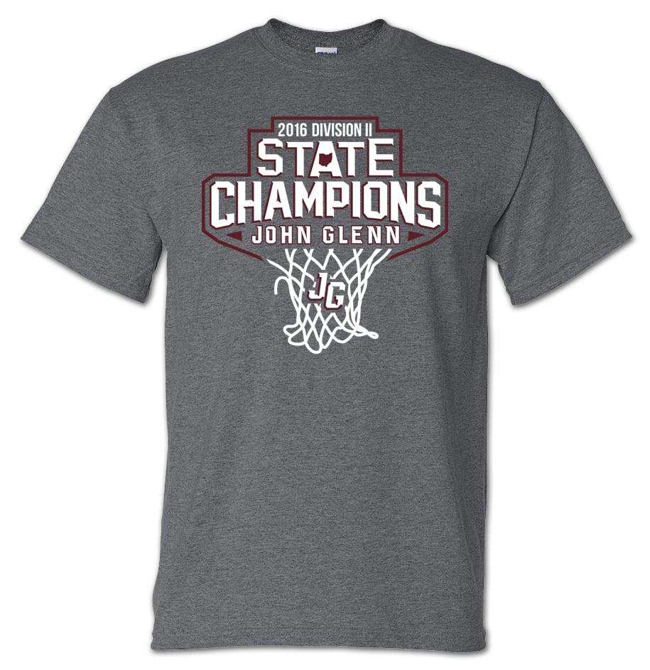 Image of John Glenn Muskies // 2016 State Champions (T-Shirt)