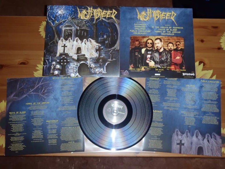 "Image of Nightbreed s/t 12"" LP"
