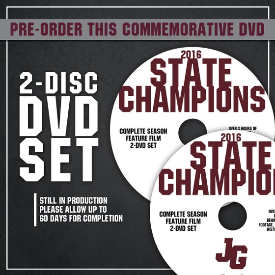 Image of John Glenn Muskies // 2016 State Champions (DVD 2-DISC SET)