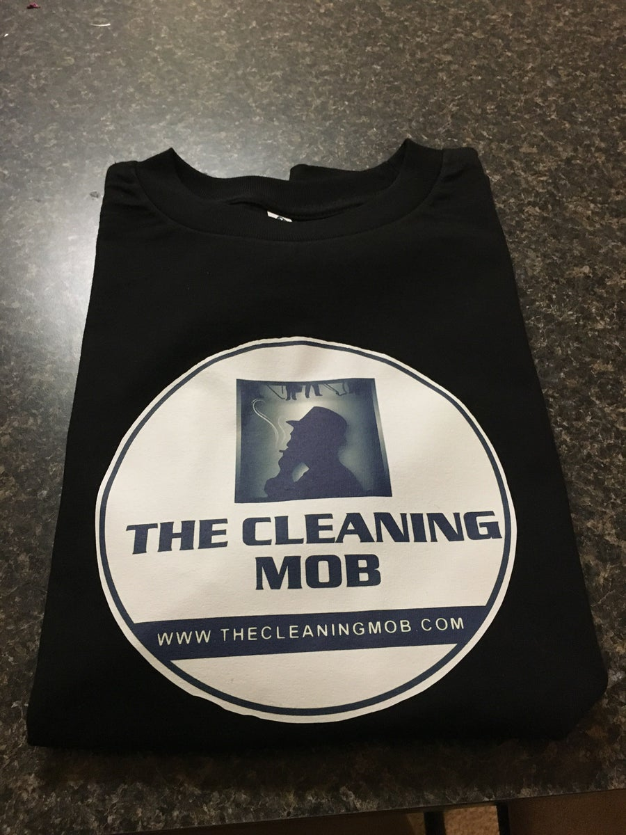Image of The Cleaning Mob Logo T-shirt