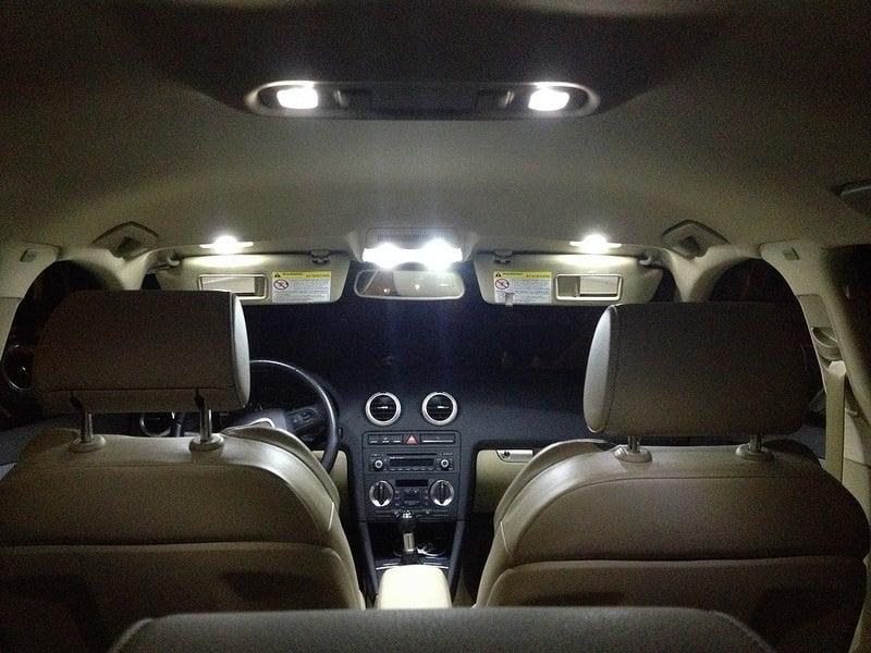 Image of Complete Interior LED Kit including Trunk LED - Error Free Fits: Audi S3 / A3 8v 2015+