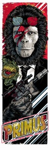 Image of PRIMUS - PLANET OF THE APES gigposter