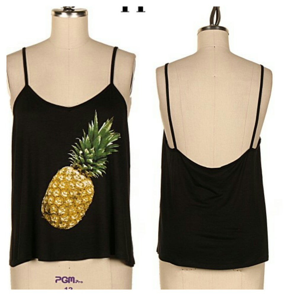 Image of Black Pineapple Tank