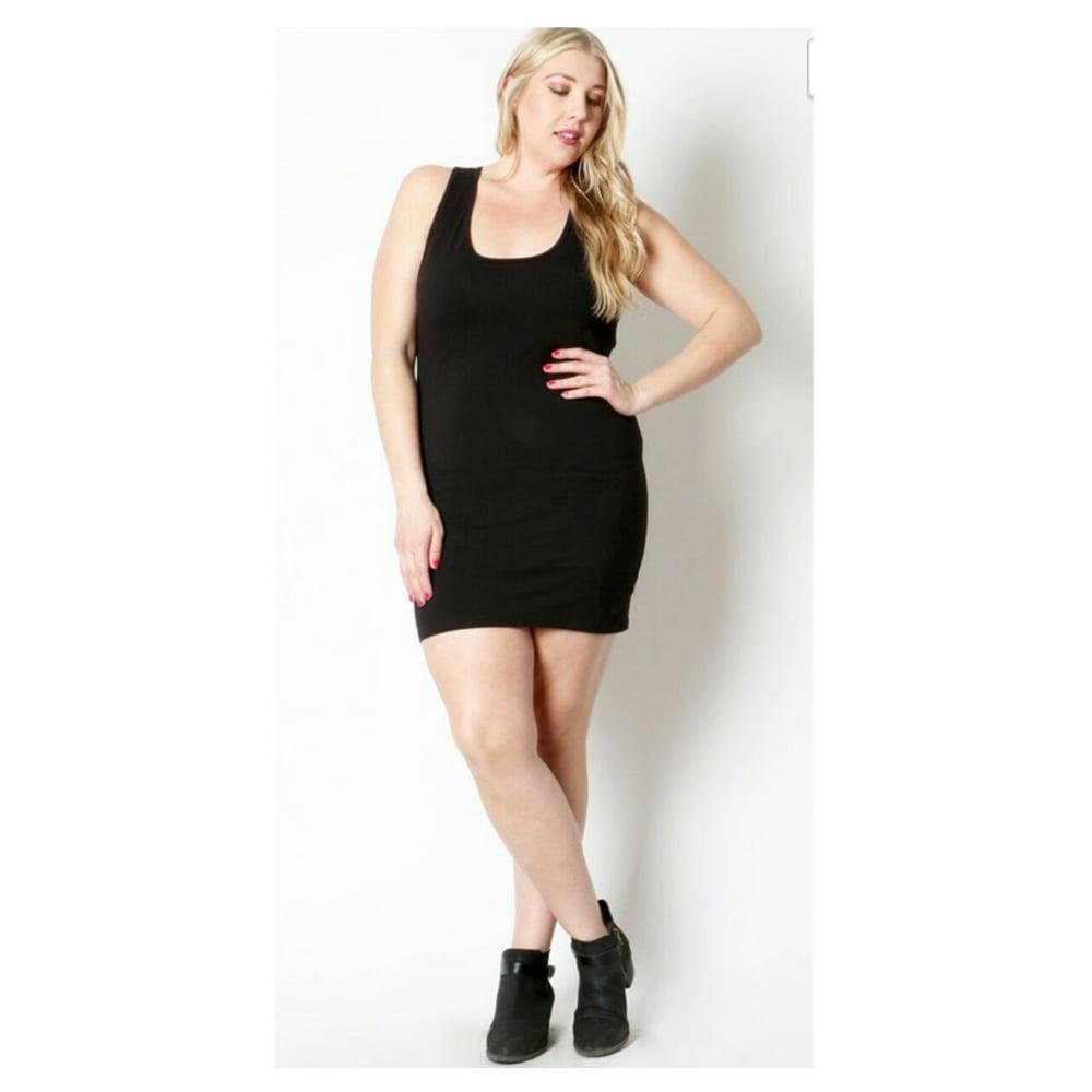 Image of Black Mini Dress