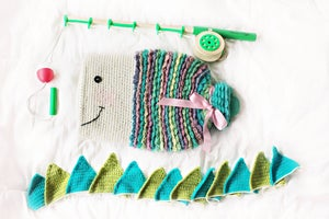 Image of Fishy Hot Water Bottle Cozy