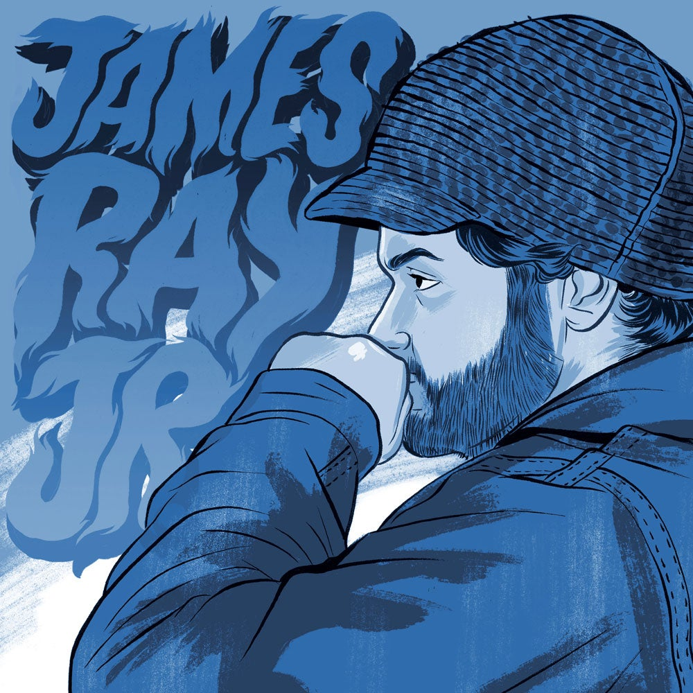 Image of James Ray Jr. EP Vinyl