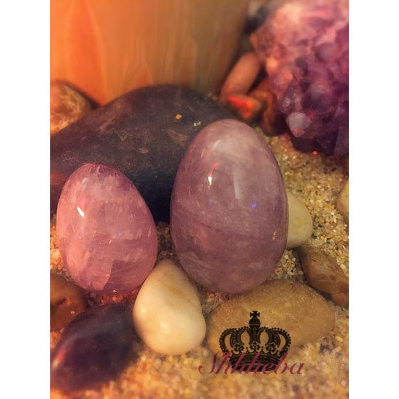 Image of Amethyst Yoni Egg