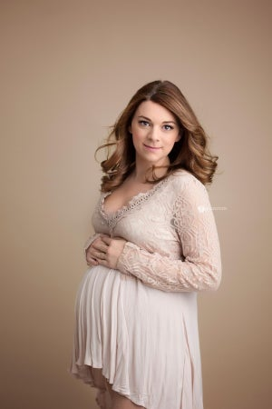Image of Rooney maternity blouse