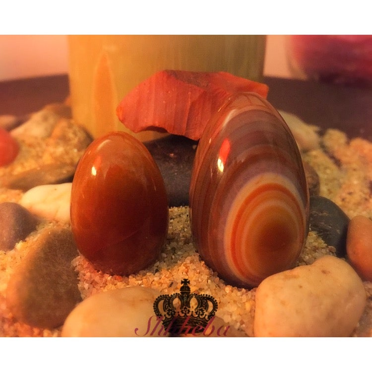 Image of Carnelian Yoni Egg