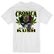 Image of CRONICA MEXICAN KUSH WHITE T-SHIRT