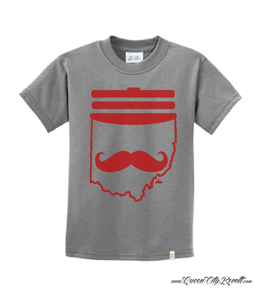 Image of Youth Mr. Redlegs Grey Tee