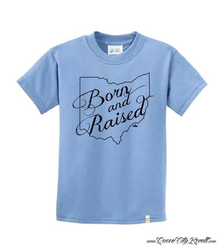 Image of Youth Born And Raised Tee Blue