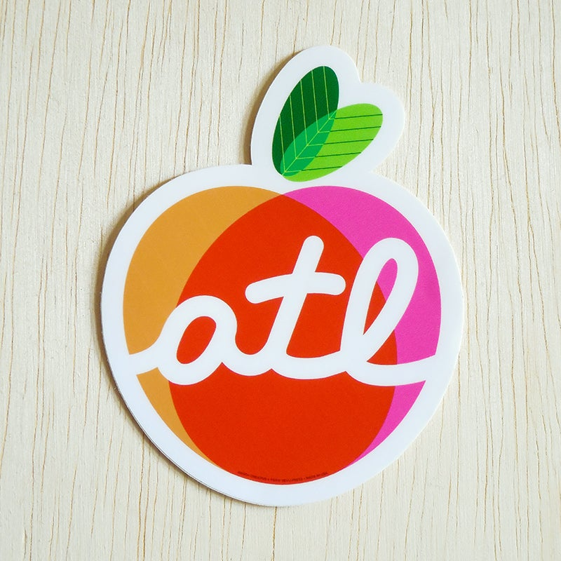 Image of The Big Peach Sticker