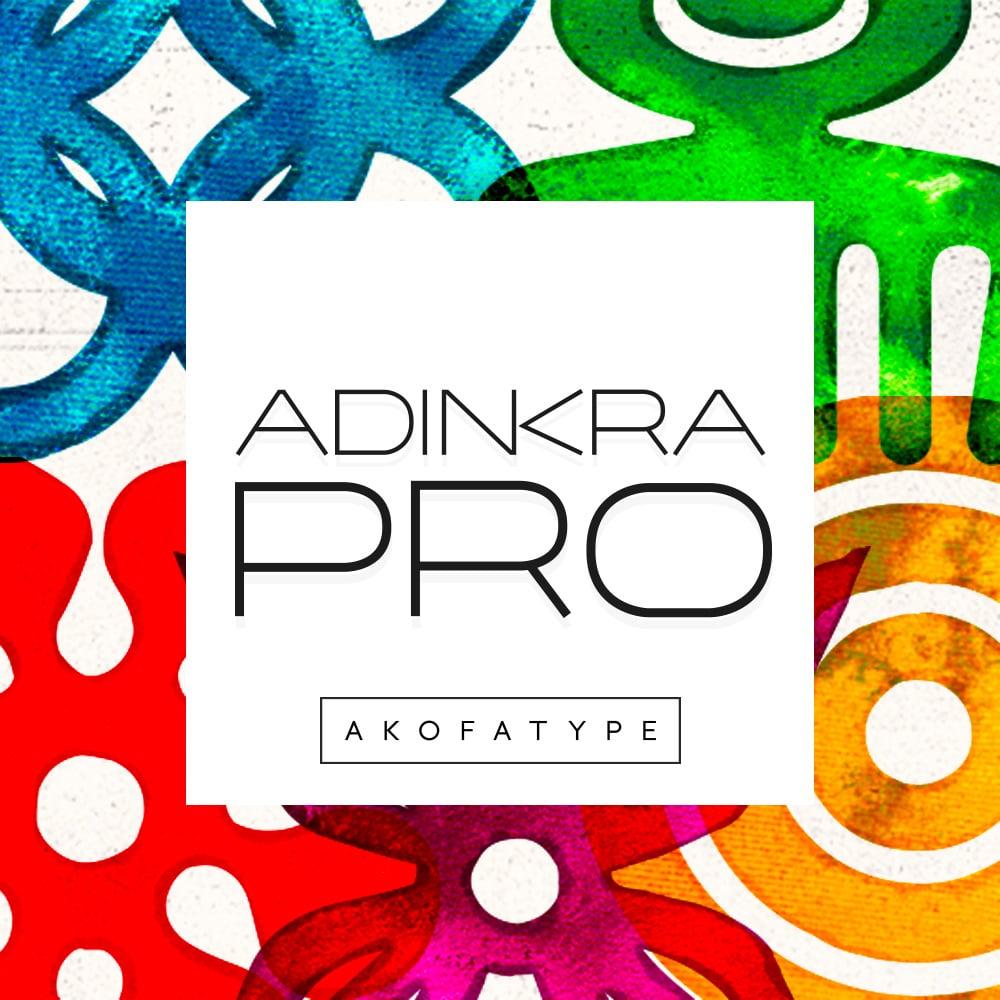 Image of AKOFAType Adinkra Pro Family