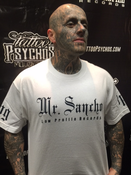 Image of NEW WHITE MR SANCHO T-SHIRT