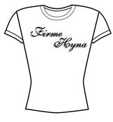 Image of Firme Hyna girls T-SHIRTS WHITE