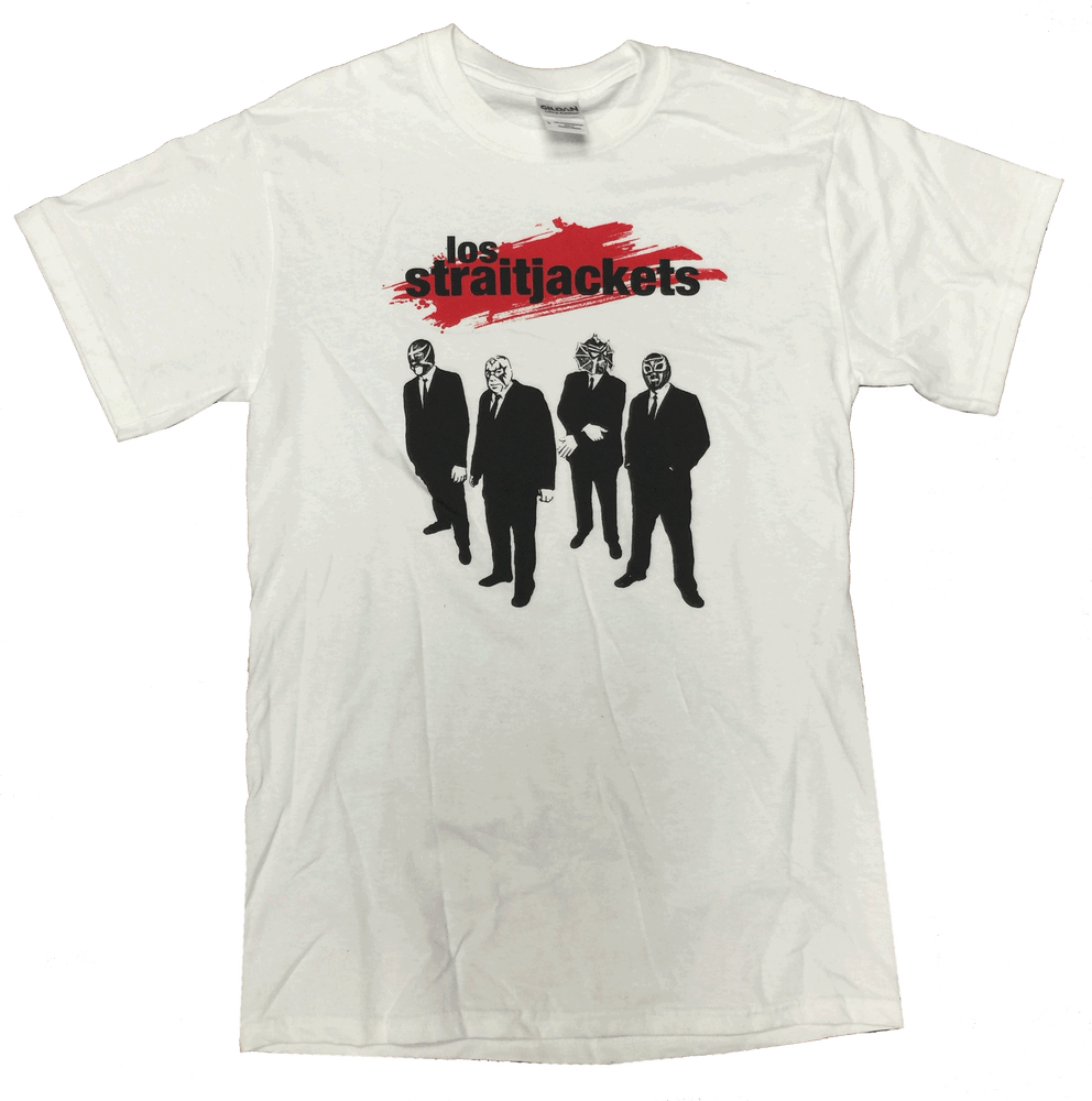 Image of LOS STRAITJACKETS: RESERVOIR T-SHIRT