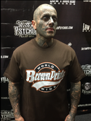 Image of BROWN PRIDE BASEBALL  T-SHIRT