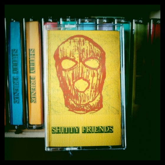 Image of Shitty Friends - Crime Line (plus 2) Tape