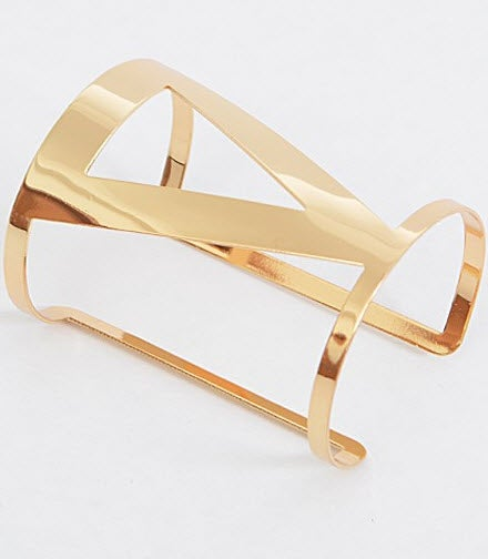 Image of Gold Cuff Bracelet