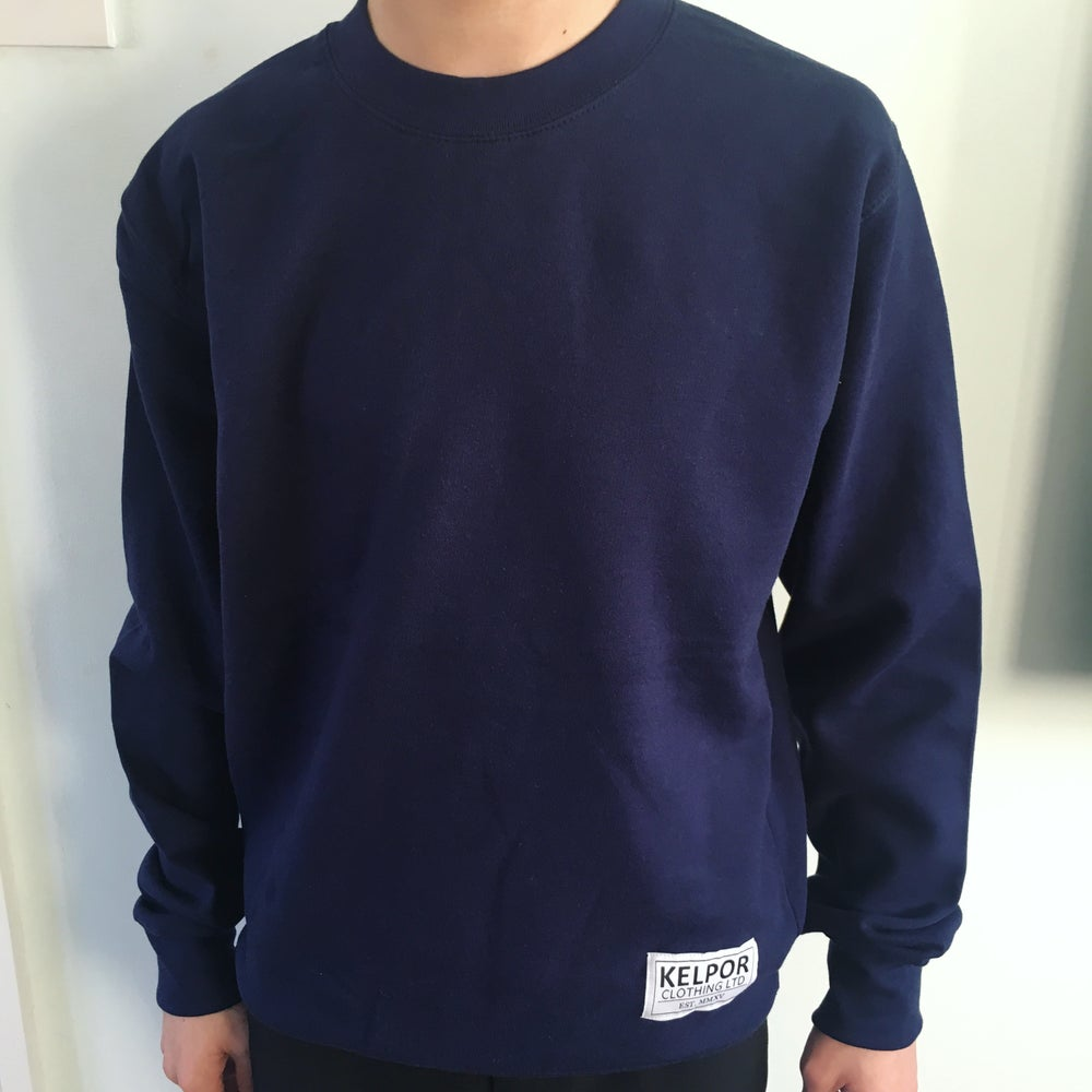 Image of Navy Sweatshirt