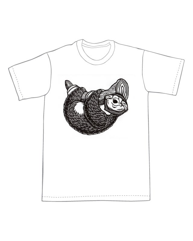 Cute Little Sloth T-Shirt  (A3)**FREE SHIPPING**