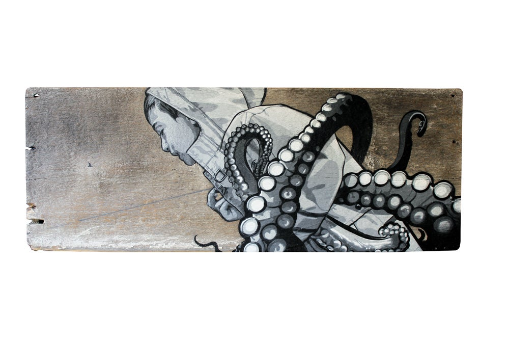 Image of Octopus Whisperer original artwork by Joe Iurato