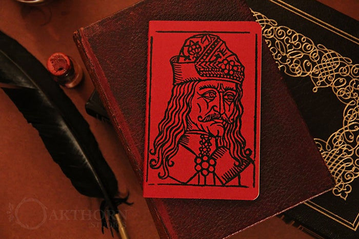 Image of Vlad the Impaler Journal BLOOD RED
