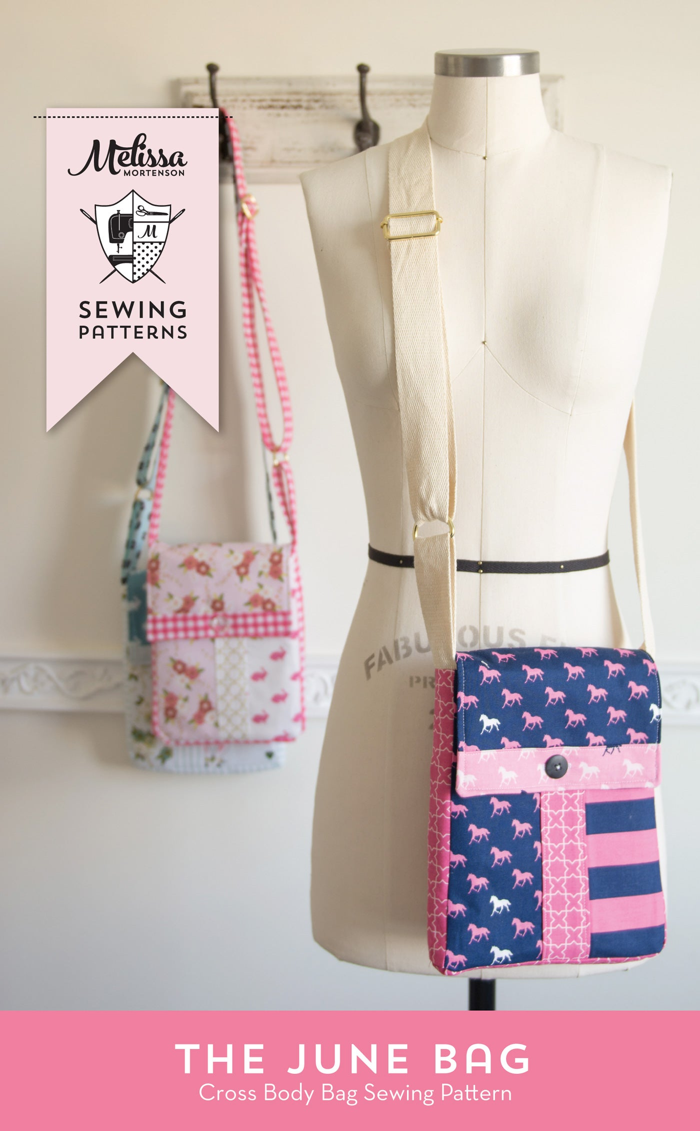 Image Of June Bag, Mini Messenger Bag Sewing Pattern PDF ...