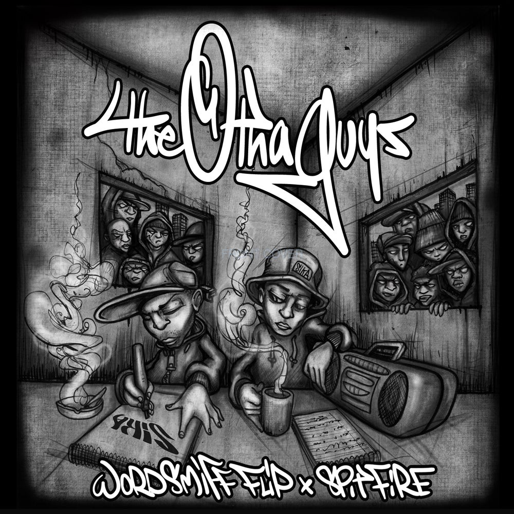 Image of THE OTHA GUYS CD (Wordsmiff FLIP + Spitfire) (SIKA records)