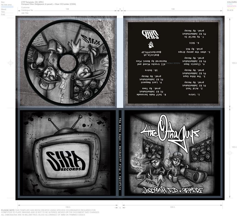 THE OTHA GUYS CD (Wordsmiff FLIP + Spitfire) (SIKA records)