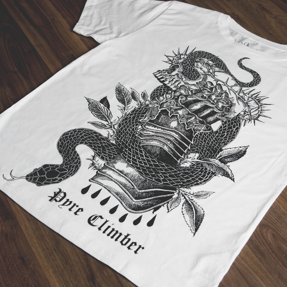 "Image of ""Serpents and kings"" Tee"
