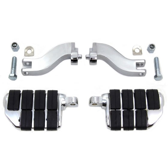 Image of Passenger Mounts & Pegs (fits HD Touring models)