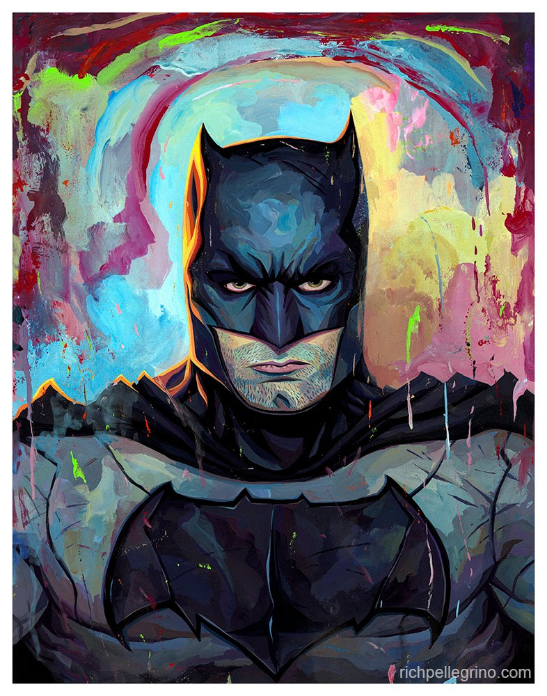 Image of Batman  11x14 Print