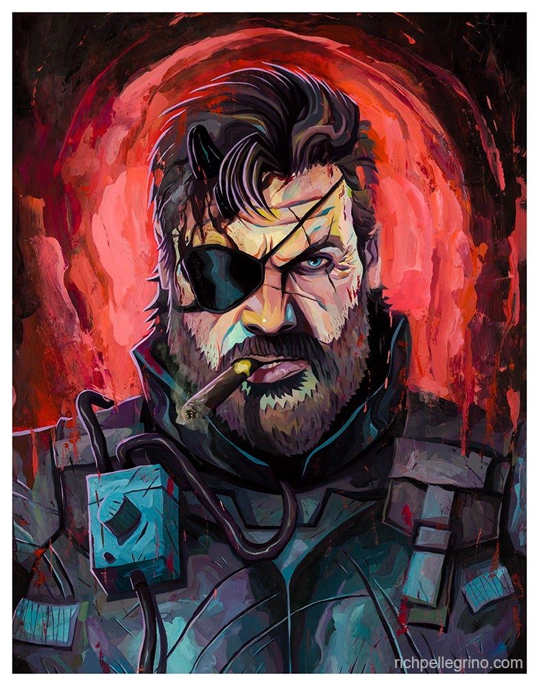 Image of Big Boss 11x14 Print